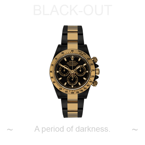 BLACK OUT Rolex Sea-Dweller by PROJECT X